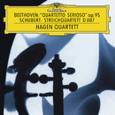 "Beethoven: String Quartet No.11 In F Minor, Op.95 ""Serioso""  / Schubert: String Quartet In G, D. 887/Hagen Quartett"