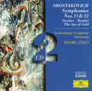 Shostakovich: Symphonies Nos. 11 & 12; October; Hamlet; The Age of Gold/Gothenburg Symphony Orchestra, Neeme Järvi