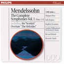 Mendelssohn: The Complete Symphonies Vol. 1/London Philharmonic Orchestra, Bernard Haitink, Riccardo Chailly