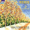 Weber: The 2 Symphonies/Academy of St. Martin in the Fields, Sir Neville Marriner