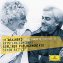 Lutoslawski: Piano Concerto; Symphony No.2/Krystian Zimerman, Berliner Philharmoniker, Simon Rattle