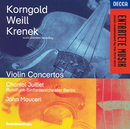 Korngold / Weill / Krenek: Violin Concertos/Chantal Juillet, Radio-Symphonie-Orchester Berlin, John Mauceri