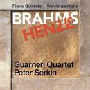 ブラームス、ヘンツェ:ピアノ五重奏曲集/Guarneri Quartet, Peter Serkin