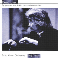 Beethoven: Symphonies Nos. 4 & 8, Leonore Overture No.1
