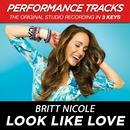 Look Like Love (Performance Tracks)/Britt Nicole