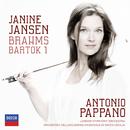 Brahms: Violin Concerto; Bartók: Violin Concerto No.1/Janine Jansen, London Symphony Orchestra, Orchestra dell'Accademia Nazionale di Santa Cecilia, Antonio Pappano