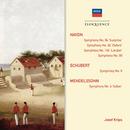 "Haydn: Symphonies 92,94,99,104; Schubert: Symphony No.6; Mendelssohn: Symphony No.4 ""Italian""/Wiener Philharmoniker, London Symphony Orchestra, Josef Krips"
