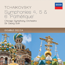 """Tchaikovsky: Symphonies 4, 5 & 6 - """"Pathétique""""/Chicago Symphony Orchestra, Sir Georg Solti"""