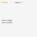 Dream Bigger (Instrumental)/Axwell Λ Ingrosso