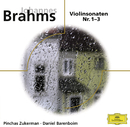 Brahms, Violinsonaten Nr. 1-3/Pinchas Zukerman, Daniel Barenboim