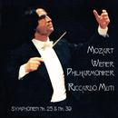 Mozart: Symphonies Nos. 25 & 39/Riccardo Muti, Wiener Philharmoniker