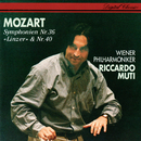 Mozart: Symphonies Nos. 36 & 40/Riccardo Muti, Wiener Philharmoniker