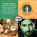 Robert Beaser: Chorale Variations; The Seven Deadly Sins; Piano Concerto/Dennis Russell Davies, American Composers Orchestra