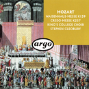 Mozart: Waisenhaus-Messe; Credo-Messe/Stephen Cleobury, The Choir of King's College, Cambridge, Stephen Layton, English Chamber Orchestra