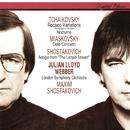 Miaskovsky: Cello Concerto / Tchaikovsky: Rococo Variations; Nocturne / Shostakovich: Adagio From The Limpid Stream/Julian Lloyd Webber, Maxim Shostakovich, London Symphony Orchestra