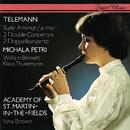 Telemann: Recorder Suite; 2 Double Concertos/Michala Petri, William Bennett, Klaus Thunemann, Academy of St. Martin in the Fields, Iona Brown