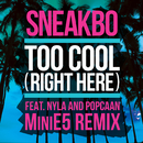 Too Cool (Right Here) (MiniE5 Remix) (feat. Nyla, Popcaan)/Sneakbo