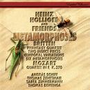 Britten: 6 Metamorphoses after Ovid; Temporal Variations; Phantasy; 2 Insect Pieces / Mozart: Oboe Quartet/Heinz Holliger