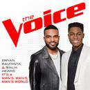 It's A Man's, Man's, Man's World (The Voice Performance)/Bryan Bautista, Malik Heard
