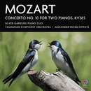 Mozart: Concerto No. 10 For Two Pianos, KV365/Silver-Garburg Piano Duo, Tasmanian Symphony Orchestra, Alexander Mickelthwate