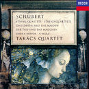 "Schubert: String Quartets Nos. 13 ""Rosamunde"" & 14 ""Death and the Maiden""/Takács Quartet"