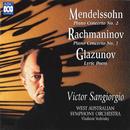Mendelssohn: Piano Concerto No. 2 - Rachmaninov: Piano Concerto No. 1 - Glazunov: Lyric Poem/Victor Sangiorgio, West Australian Symphony Orchestra, Vladimir Verbitsky