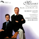 Mozart: Piano Concertos Nos. 22 & 23/Robert Levin, The Academy of Ancient Music, Christopher Hogwood