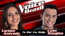 Te Dar Um Beijo (The Voice Brasil 2016 / Audio)/Lariani Acevedo, Luan Douglas
