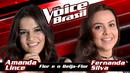 Flor E O Beija-Flor (The Voice Brasil 2016 / Audio)/Amanda Lince, Fernanda Silva