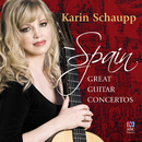Spain: The Great Guitar Concertos/Karin Schaupp, Tasmanian Symphony Orchestra, Benjamin Northey, Philip Chu, Cantillation