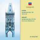 Haydn: Symphonies 100, 102, 103. Mozart: Symphonies 25 & 38; Eine kleine Nachtmusik/Sir Georg Solti