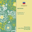 Beethoven: Symphony No. 4; Violin Concerto/Mischa Elman, London Philharmonic Orchestra, Sir Georg Solti