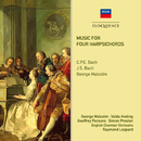 Music For Four Harpsichords/George Malcolm, Valda Aveling, Geoffrey Parsons, Simon Preston, English Chamber Orchestra, Raymond Leppard