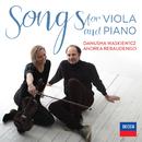 Songs For Viola And Piano/Danusha Waskiewicz, Andrea Rebaudengo