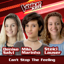 Can't Stop The Feeling (Ao Vivo / The Voice Brasil Kids 2017)/Denise Salvi, Mila Marinho, Steici Lauser
