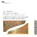 Bach, J.S., W.F., C.P.E & J.C.: Works for Two Harpsichords/Christophe Rousset, Christopher Hogwood