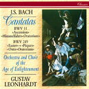 J.S. Bach: Easter Oratorio; Ascension Oratorio/Gustav Leonhardt, Choir Of The Age Of Enlightenment, Orchestra Of The Age Of Enlightenment