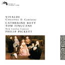 Vivaldi: Concertos and Cantatas/Catherine Bott, Tom Finucane, New London Consort, Philip Pickett