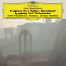 メンデルスゾーン:交響曲 第4番<イタリア>&第5番 <宗教改革>/Israel Philharmonic Orchestra, Leonard Bernstein