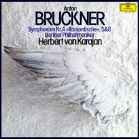 ブルックナー:交響曲第4番<ロマンティック>・第5番・第6番/Berliner Philharmoniker, Herbert von Karajan
