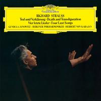 R.シュトラウス: 交響曲<死と変容>、4つの最後の歌/Berliner Philharmoniker, Herbert von Karajan