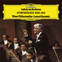 ベートーヴェン:交響曲 第1番・第2番/Wiener Philharmoniker, Leonard Bernstein