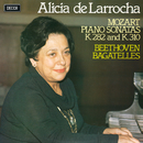 Mozart: Piano Sonatas Nos. 4 & 8 / Beethoven: 7 Bagatelles/Alicia de Larrocha