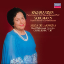 Schumann: Piano Concerto / Rachmaninov: Piano Concerto No. 2/Alicia de Larrocha, Royal Philharmonic Orchestra, Charles Dutoit