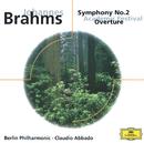 ブラームス:交響曲第2番、大学祝典序曲/Berliner Philharmoniker, Claudio Abbado