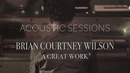 A Great Work (Acoustic Sessions)/Brian Courtney Wilson