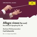 Mozart: Symphony No. 34  In C, KV 338: I. Allegro vivace/Berliner Philharmoniker, Carl Schuricht