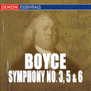 Boyce: Symphonies 3, 5 & 6/Camerata Rhenania, Hanspeter Gmur