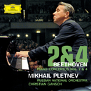 Beethoven: Piano Concertos Nos. 2 & 4/Mikhail Pletnev, Russian National Orchestra, Christian Gansch