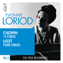 Chopin: 12 études, Op.25 | Liszt: Piano sonata in B minor, S.178/Yvonne Loriod